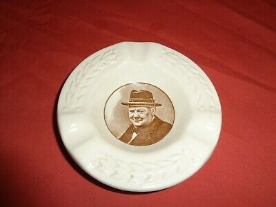 Royal Doulton Winston Churchill This Was Their Finest Hour Commemorative Tray