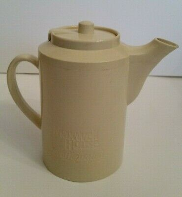 Maxwell House Decaffeinated Coffee Small Plastic Insulated Pot Service Ideas