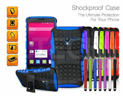 For Samsung Galaxy J5 (2017) J530 - Shockproof Tough Armour Case Cover &Pen