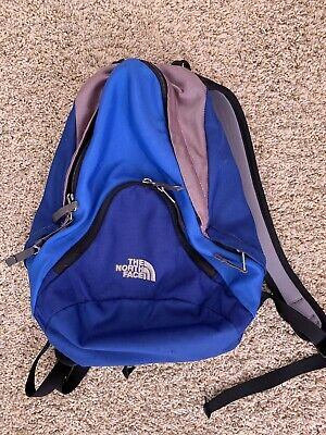 THE NORTH FACE Pandora Backpack Day Pack Vintage Blue Purple