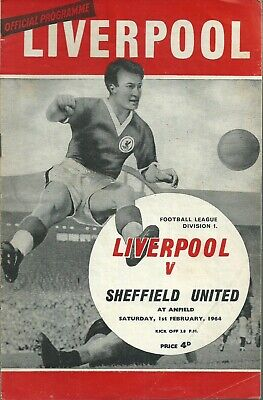 Liverpool FC 1963/64 Home or Away Matchday Programmes - Name your request