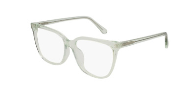 51b0420e64 Stella McCartney SC0144OA 003 Eyeglasses Transparent Green Frame 55mm