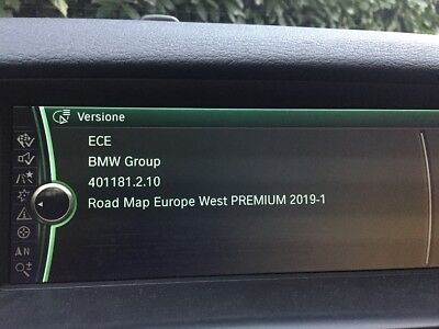 BMW Road Map Update East/West Europe Premium 2019-1 - CIC System