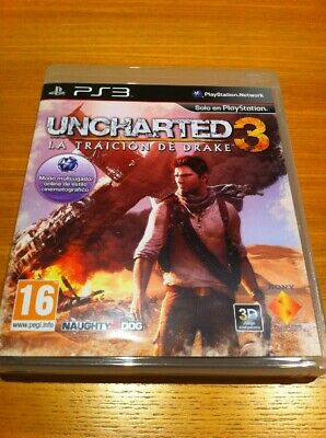 Uncharted 3 La Traición De Drake Ps3 Fisico Pal España