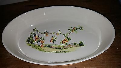Princess House Or Fiesta Open Veg Dish Country Harvest Collection Wade England