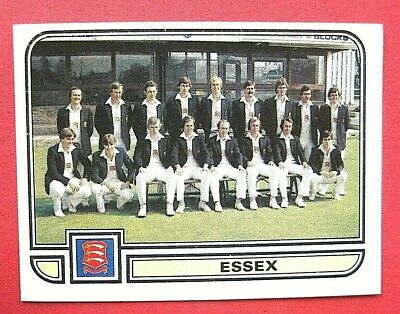 Panini.. Cricket 83...x 1 Sticker. ..# 19   Team Picture      Essex  ...vg