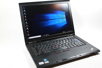 Lenovo ThinkPad T400s Win10 Pro Intel core duo2 P9400 HDD 250Go 4GB Pc portable