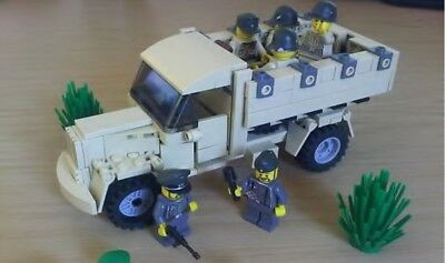 Custom German WW2 Opel Blitz (Afrika Korps) using Lego