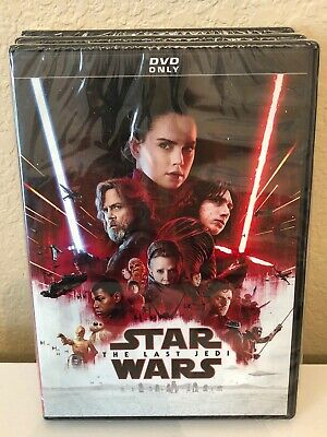 Star Wars: The Last Jedi  NEW DVD