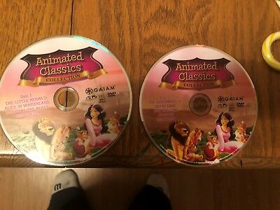 Collectible Classics: Animated 8 Film Collection, (DVD, 2012, 2-Disc Set)