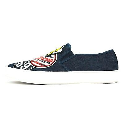 Steve Madden Mens Wasdin Slip-on Sneakers Fabric Msrp 75 New Casual Shoes