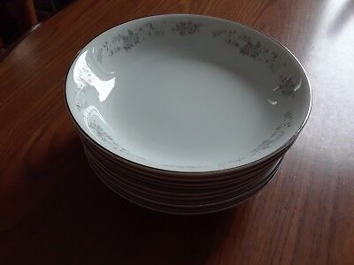 "(8) Carlton Japan Corsage 7.5"" Soup or Salad Bowls Pattern 481"