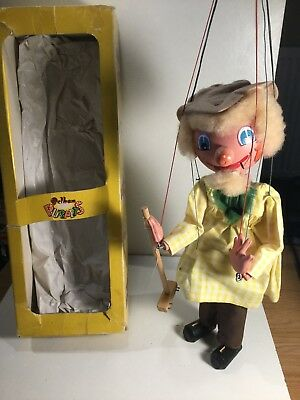 Vintage Pelham Puppets Farmer Within Its Original Box
