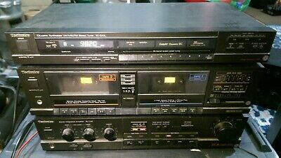Vintage Classic Technics Stack System stereo hifi