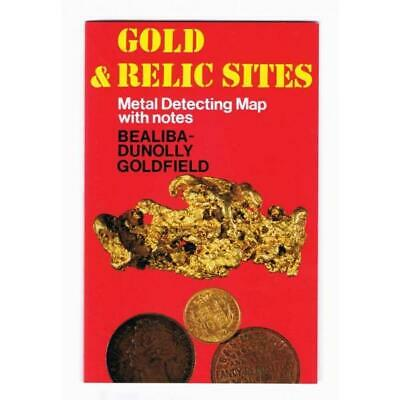 VIC - Gold & Relic Sites - Metal Detecting Maps - Region: Bealiba-Dunolly for...