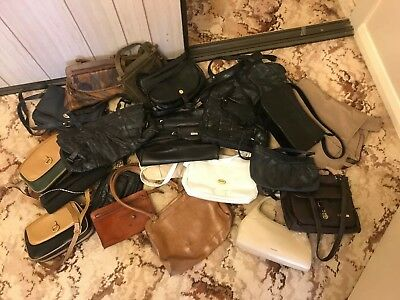 Vintage Retro Bag Lot Market Stall Womans Woman Lady Clutch Clothing Handbag