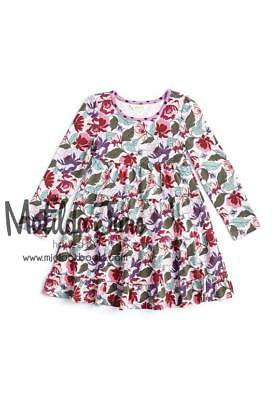 c6a9dc1b6653 NWT 8 Matilda Jane LITTLE MISS ALICE DRESS Floral Lap Once Upon A Time FREE  SHIP