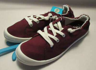 9784f4732fd9e New w  Tag Mad Love Lennie Womens 6M Maroon Pull On Padded Insole Sneakers