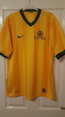 Mens Football Shirt - Mamelodi Sundowns - South Africa - Home 2009-2011 - Nike