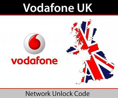 Vodafone UK iphone XS , XR  Unlocking Codes (Fast & Express Service)
