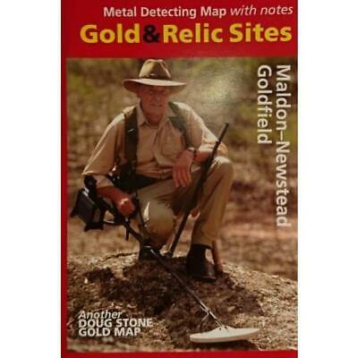 VIC - Gold & Relic Sites - Metal Detecting Maps - Region: Maldon-Newstead for...