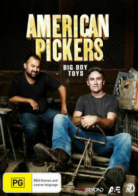 American Pickers: Collection 12 - Big Boy Toys DVD R4