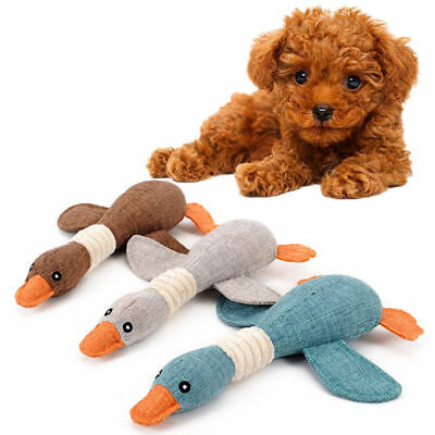 Pet Puppy Chew Squeaker Squeaky Plush Sound Wild Goose For Dog Sound Toys