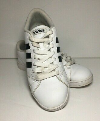 info for 0ae01 d75ce Adidas Womans NEO Baseline Casual Sneaker, WhiteBlackWhite size 7 AW4409  MINT