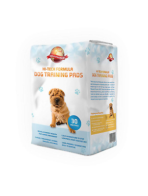 Puppy Training Pads 30-Pack|60cm x 60cm New Super Absorbent Size|This New Unique