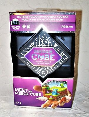 NEW Meet the Merge Cube Augmented/Virtual Reality Hold a Hologram in Your Hand