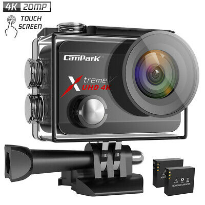 Campark X30 4K Action Camera 20MP Touchscreen Sports 40m Waterproof Video Camera