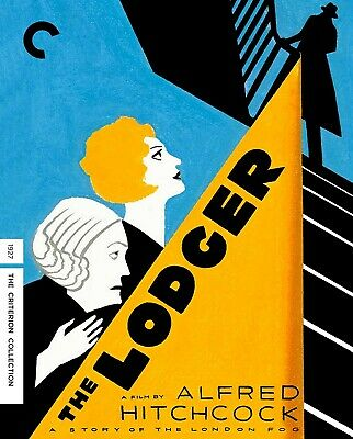 The Lodger (Criterion Blu-ray) 1927 Alfred Hitchcock silent classic BRAND NEW