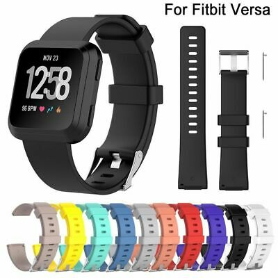Smart Band Replacement Wristband Wrist Strap Silicone Bracelet For Fitbit Versa~
