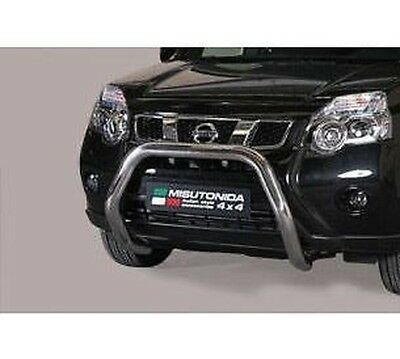 BULL BAR NISSAN X TRAIL 2011> SUPER Bar zugelassenen ø 76mm INOX