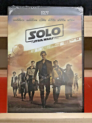 Solo A Star Wars Story (DVD 2018) Brand new FAST SHIPPING