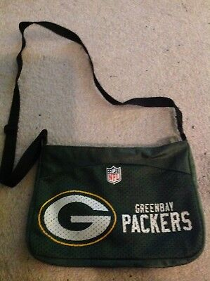 Top PROFANITY GREEN BAY Packers Jersey Purse Shoulder Bag by Littlearth