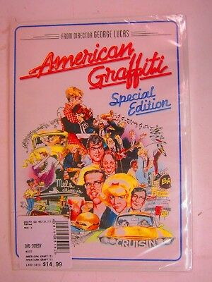 American Graffiti -Richard Dreyfuss, Ron Howard (DVD, 2011, Special Edition) NEW