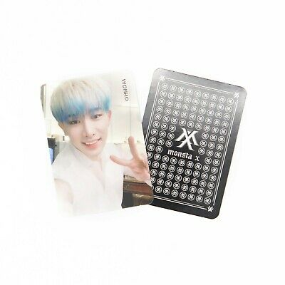 [MONSTA X]2nd Album Take.2 'WE ARE HERE' Official Photocard/WONHO 4