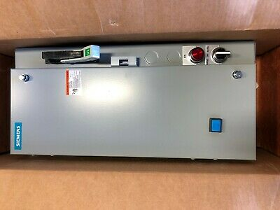 NEW IN BOX Siemens 17DUE92BF10 Combination Magnetic Motor Starter Size 1