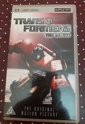 Transformers The Movie Umd Video Psp