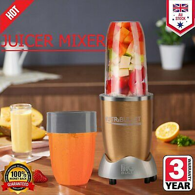 NutriBullet Juicer Mixer Extractor Fruit Vegetable Blender 900W Xmas gifts Q1Q