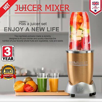 FRESH NUTRI MIXER 900w BULLET BLENDER FOOD EXTRACTOR MAGIC JUICER Xmas gifts W2W