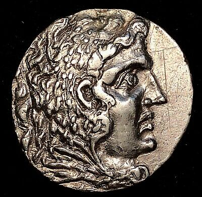 Alexander The Great Odessos Mint Ancient Greek Silver Tetradrachm 15.92g