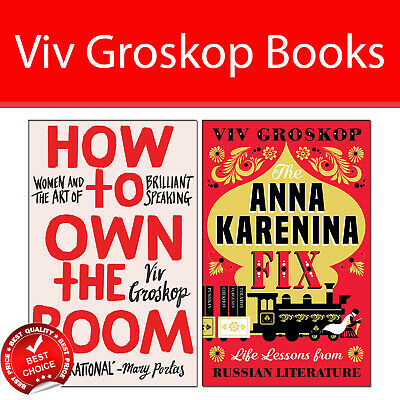 Viv Groskop 2 Books Collection Pack set How to Own the Room,The Anna Karenina