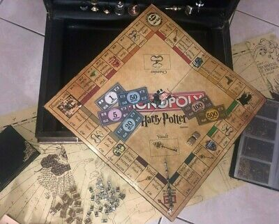 Harry Potter INSPIRED monopoly, digital DIY template, including a FREE gift!