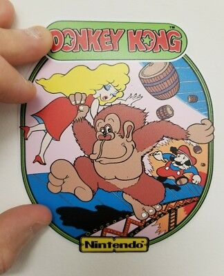 Donkey Kong contour cabinet art sticker. 4 x 5. Buy 3 stickers, GET ONE FREE!