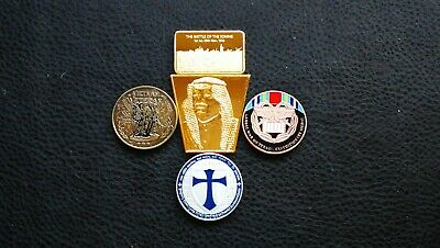 House Clearance Job Lot Collectables German Military Gold Silver Plated Bar Coin