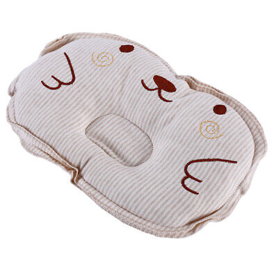 Newborn Baby Infant Anti Roll Prevent Flat Pillow Head Support Neck Comfy ONE