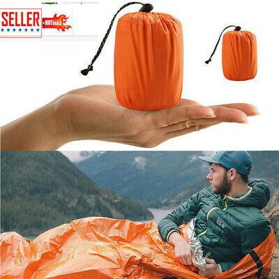 Reusable Emergency Sleeping Bag Thermal Survival Camping Sleep Bag Waterproof