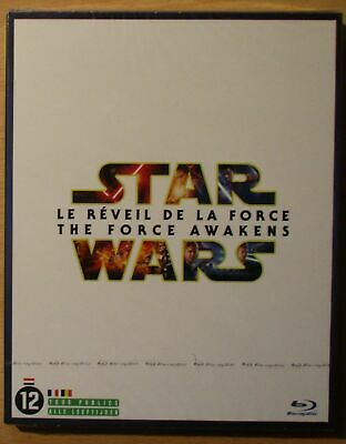 BLU RAY STAR WARS - LE REVEIL DE LA FORCE - EDITION 2 BLU RAY Neuf sous blister